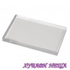 Прозрачно акрилно блокче- 5 x 8см