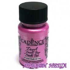 "Боя за рисуване CADENCE Dora металик - розова, ""Hot Pink"" 50мл."