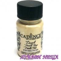 """CADENCE Dora металик - """"Clotted Cream"""" 50мл"""