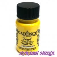 "CADENCE Dora металик - ""Canary Yellow"" 50мл"