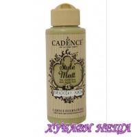 "CADENCE STYLE MATT - Зелен, ""Mimosa Green"" 120ml"