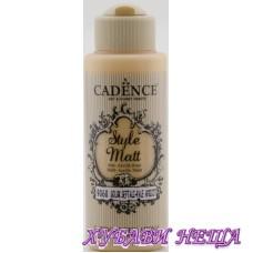 "CADENCE STYLE MATT - Кайсия ""Pale Apricot"" 120ml"