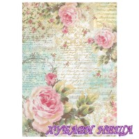 Оризова хартия, А4- DFSA4204- Рози и Писания