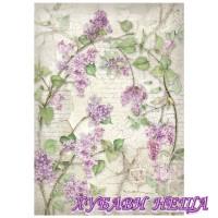 Оризова хартия, А4- DFSA4212- Lilacs