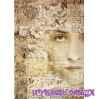 Оризова хартия, А4- DFSA4266- Old Lace Face