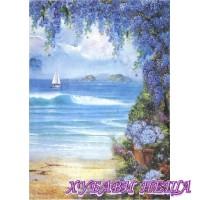 Оризова хартия, А4- DFSA4294- Seaside