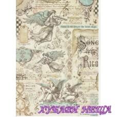 Оризова хартия, А4- DFSA4321- Music Angels