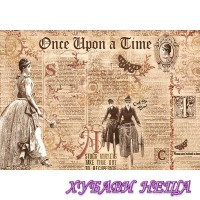 Оризова хартия- DFS301 48x33см.- Once Upon a Time