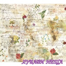 Оризова хартия-DFT017 50x50см.- Цветя и поеми