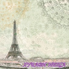 Stamperia оризова хартия 50x50см.- Айфелова кула