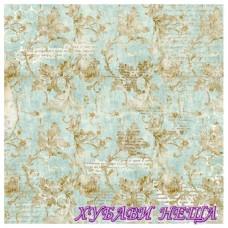 Оризова хартия-DFT337 50x50см.- Wonderland Floral and Writings