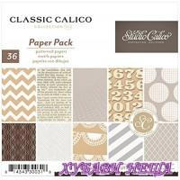 "Дизайнерско блокче 6x6""- Classic Calico- 36л."