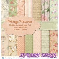 Дизайнерско блокче 30x30 Vintage Memories- 14листа