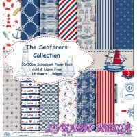 Дизайнерско блокче 30x30 The Seafarers Collection- 14листа