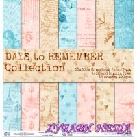 Дизайнерско блокче 30x30 Days to Remember- 14листа