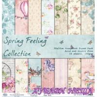 Дизайнерско блокче 30x30 Spring Feeling 14листа