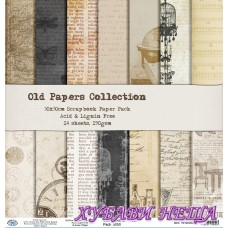 Дизайнерско блокче 30 x 30см Old Papers- 14л.