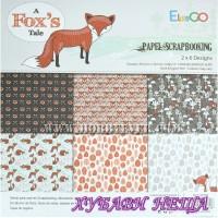 Дизайнерско блокче 30,5x30,5 A Fox's Tale 12листа