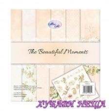 Дизайнерско блокче 12x12'' The Beautiful Moments  6л двустр