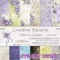Дизайнерско блокче 12x12'' Creative Reverie  6л. двустр.