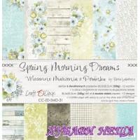 Дизайнерско блокче 12x12'' Spring Morning Dreams  6л. двустр.