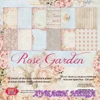 Дизайнерско блокче 12x12'' CPB-RG30- Rose Garden 12л.- двустр.
