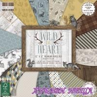 "Дизайнерско блокче 12 х 12"" Wild at Heart 48 листа"
