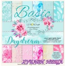 "Дизайнерско блокче 12x12""- Basic Daydream 12 л. двустр"