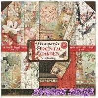 """Дизайнерско блокче, 12х12"""", """"Oriental Garden"""", 10 листа"""
