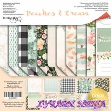 Дизайнерско блокче 30,5x30,5 Peaches & Cream 11л двустр