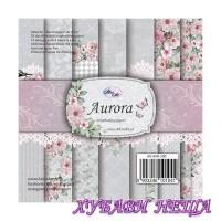 Дизайнерско блокче 6x6'' Aurora  28л двустр.