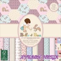 Дизайнерско блокче 6 x 6'' Belle & Boo 48л