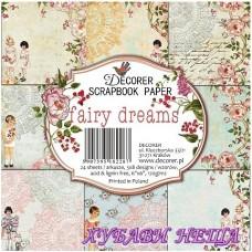 Дизайнерско блокче 6x6'' Fairy Dreams  24л.