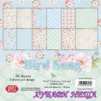 Дизайнерско блокче 6x6'' CPB-BS15- Bird Song 36л.