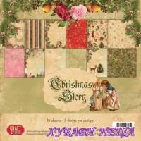 Дизайнерско блокче 6x6'' CPB-CS15- Christmas Story 36л