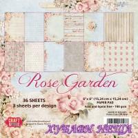 Дизайнерско блокче 6x6'' CPB-RG15- Rose Garden 36л