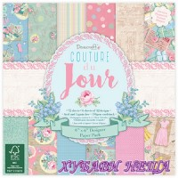 Дизайнерско блокче 6x6'' Couture du Jour- 72л