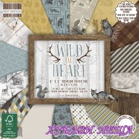 Дизайнерско блокче 6 х 6'' Wild at Heart 64 листа