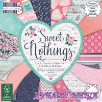 Дизайнерско блокче 6 х 6'' Sweet Nothings 64 листа