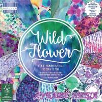 Дизайнерско блокче 6 х 6'' Wild Flower 64 листа