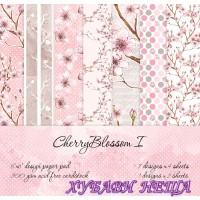Дизайнерско блокче 6x6''- Cherry Blossom I 30л