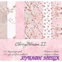 Дизайнерско блокче 6x6''- Cherry Blossom II 30л