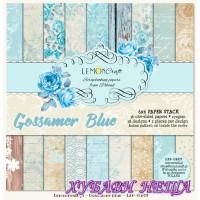 """Дизайнерско блокче 6x6""""- Gossamer Blue 36 листа"""