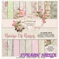 """Дизайнерско блокче 6x6""""- House Of roses 36 листа"""
