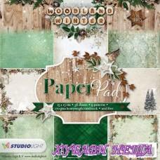 Дизайнерско блокче 6x6'' Woodland Winter-55 36л