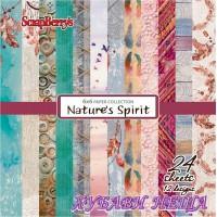 """Дизайнерско блокче 6x6""""- Nature's Spirit 24 листа"""