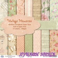 Дизайнерско блокче 20x20 Vintage Memories- 14листа