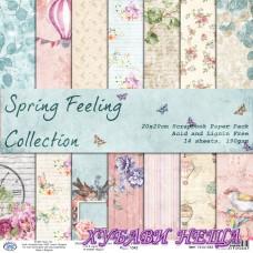 Дизайнерско блокче 20x20 Spring Feeling 14листа
