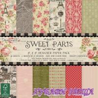 Дизайнерско блокче 8''x8'' Sweet Paris- 48 листа