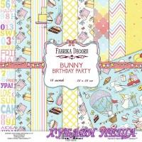 Дизайнерско блокче 20x20 Bunny Birthday Party 10л.